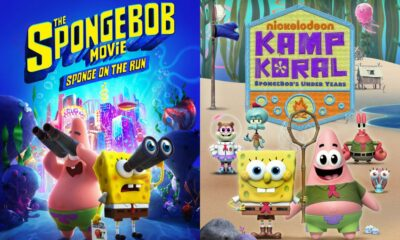 The SpongeBob Movie: Sponge on the Run and Kamp Koral: SpongeBob's Under Years