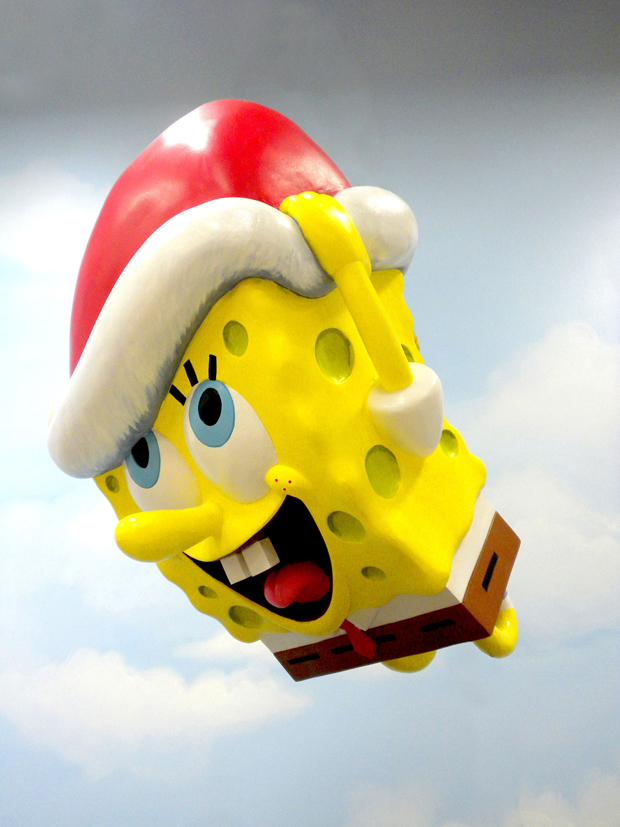 SpongeBob Gets a Facelift for 2013 Macy's Parade