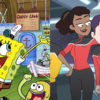 SpongeBob SquarePants and Star Trek: Lower Decks