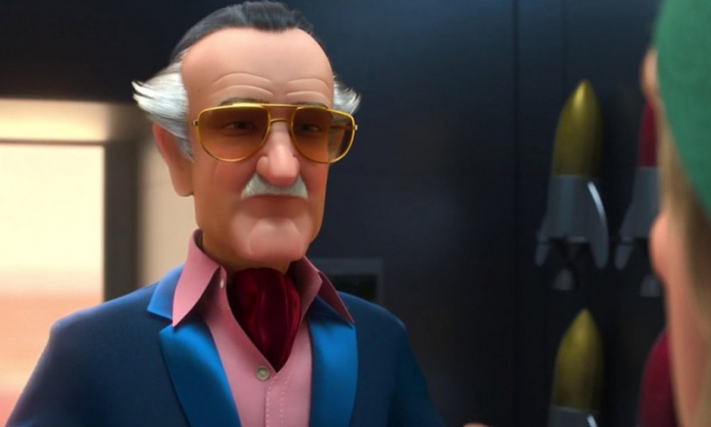 Stan Lee made a CG cameo as Fred's dad at the end of Big Hero 6 (2016); he also appeared in the TV series.