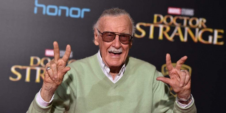 Stan Lee, executive producer, at the premiere of Doctor Strange in 2016 [Photo: Associated Press]