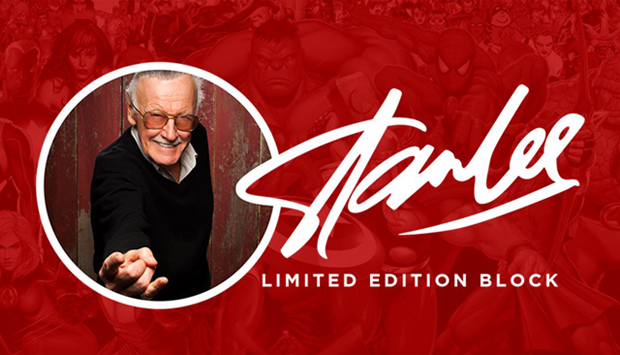 Stan Lee Limited Edition Block