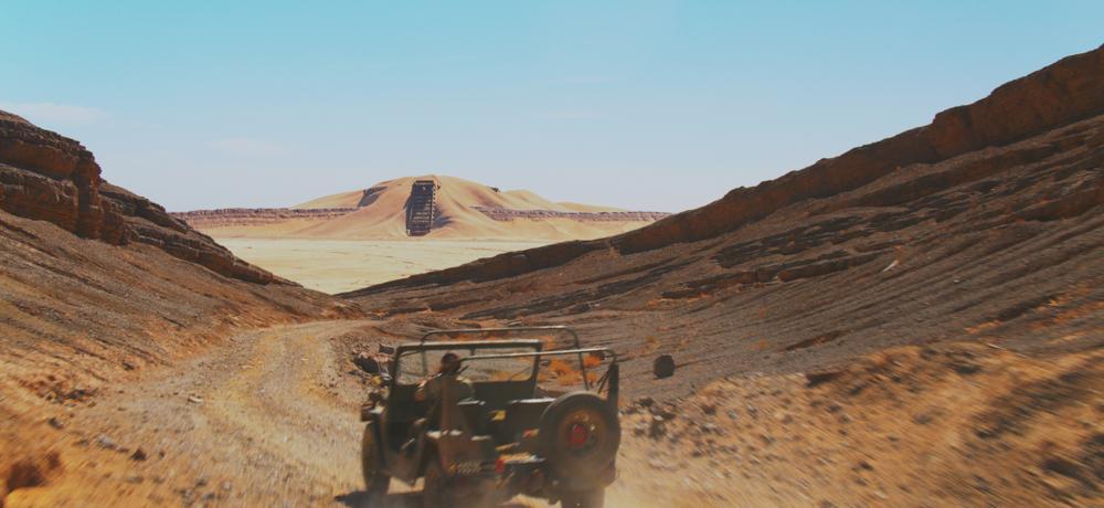 Star Wars: Origins was shot in the Sahara Desert.