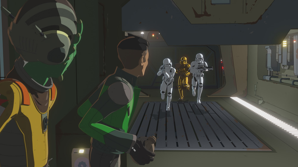 The Force Is Alive And Animated In Star Wars Resistance