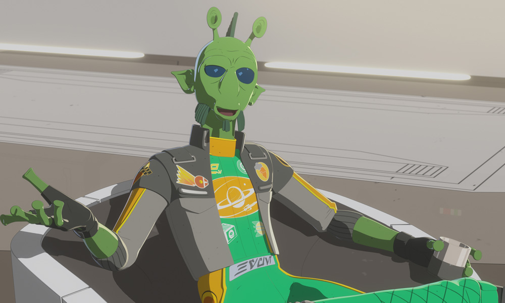 "Star Wars: Resistance ""The High Tower"""