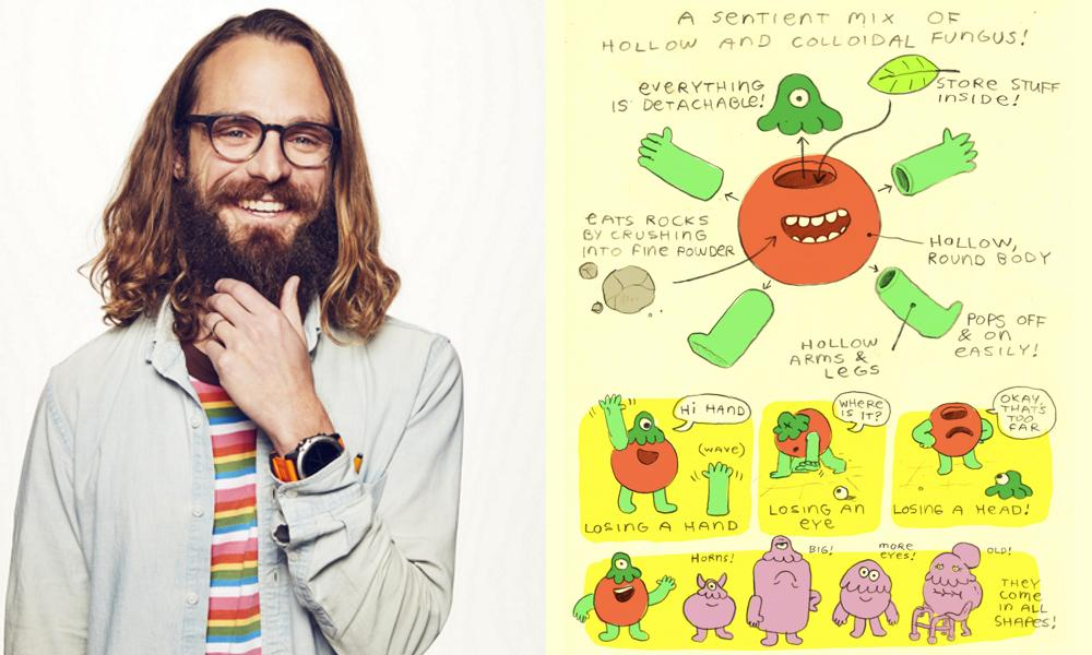"""Series creator Stephen P. Neary and his anatomy of a """"Fungie"""""""
