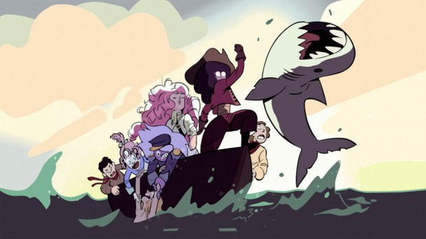 Steven Universe, created by Rebecca Sugar, one of the letter's 200+ signatories.