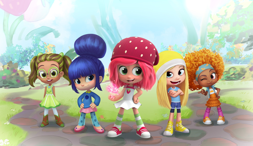 Dhx Media Snaps Up Peanuts Strawberry Shortcake