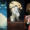 My Neighbor Totoro, Graveyard of the Fireflies, Spirited Away