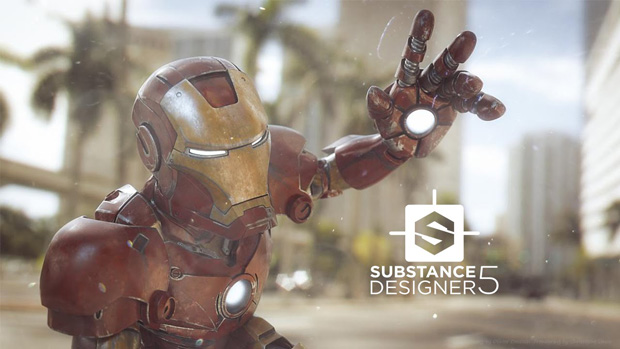 Substance Designer 5 screen shot