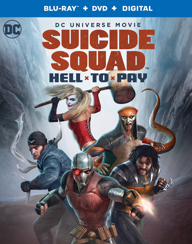 Suicide Squad: Hell to Pay Blu-ray + DVD + Digital