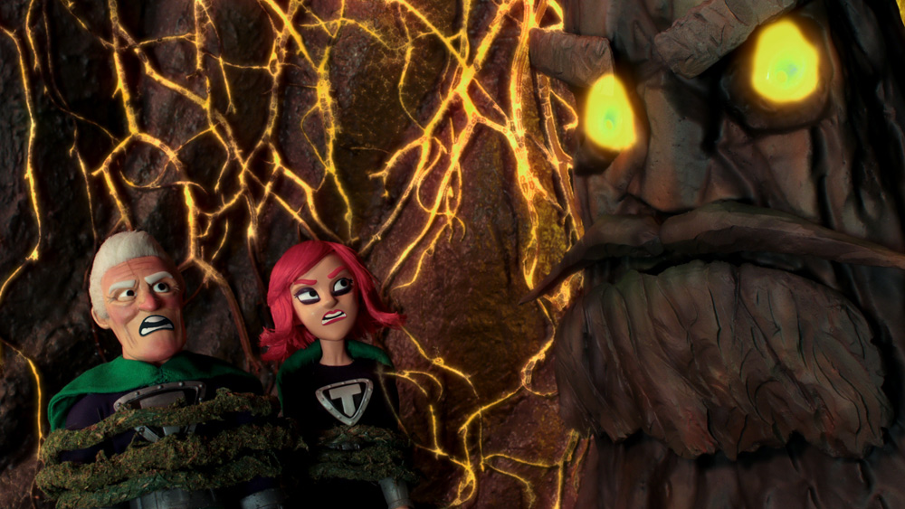 SuperMansion: World War Tree