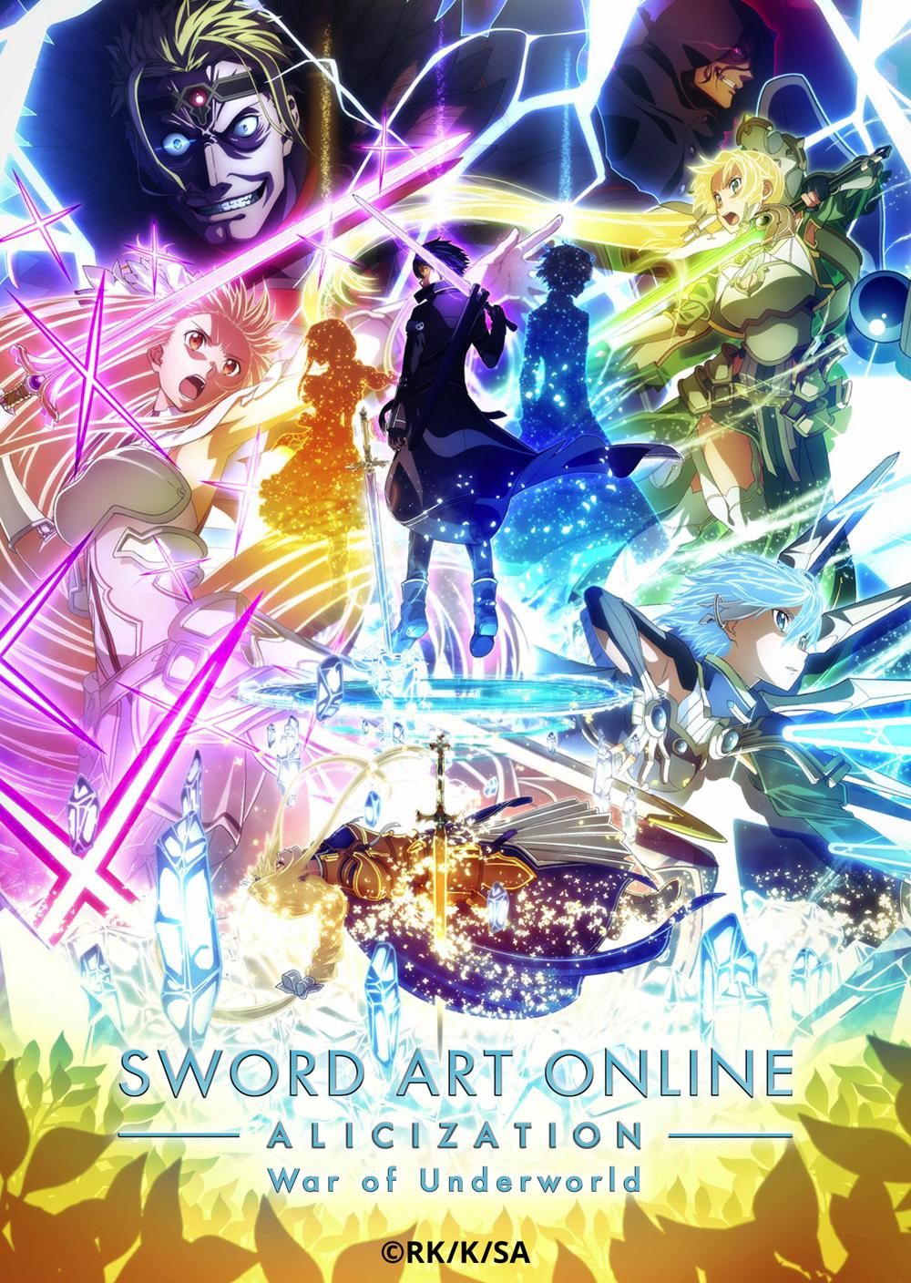Sword Art Online Alicization War of Underworld Part 2