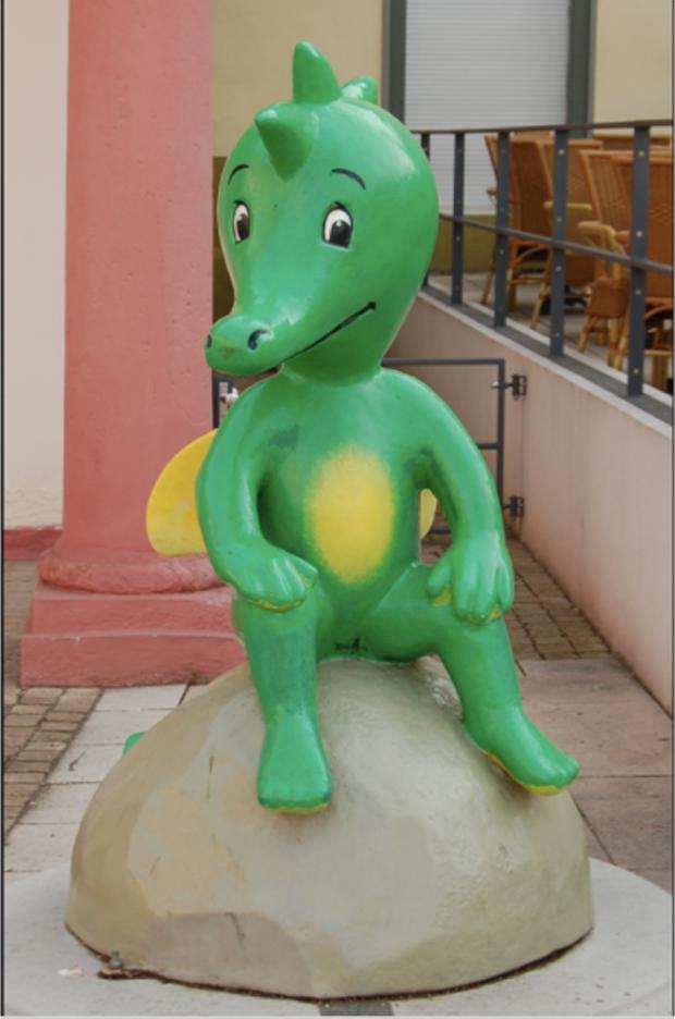 Tabaluga statue