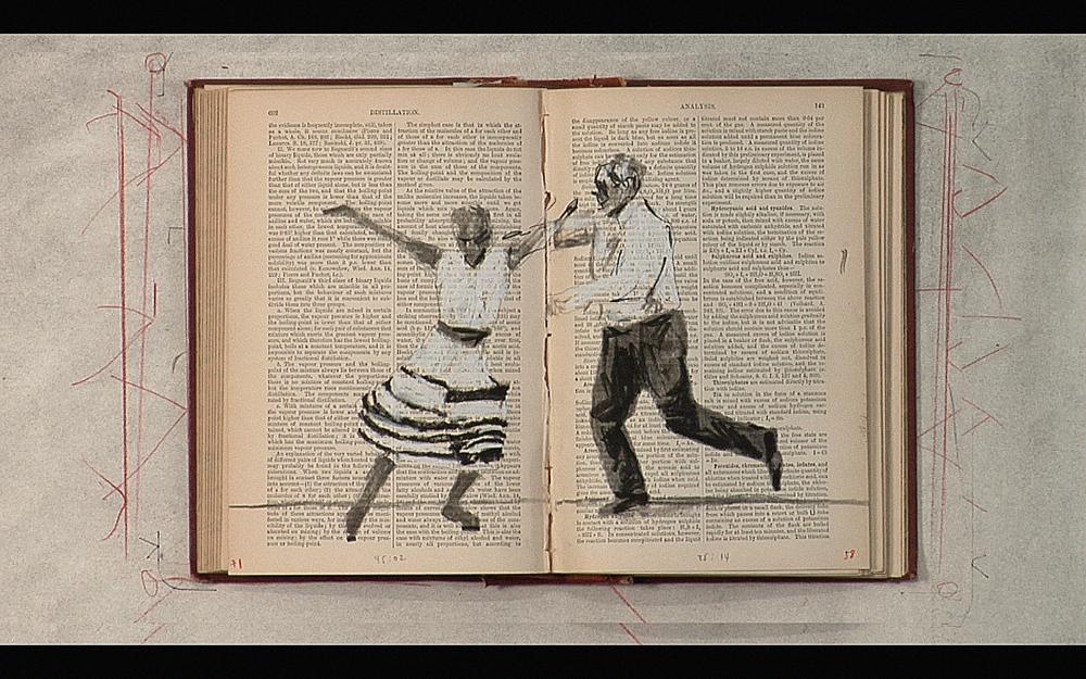 Tango for Page Turning (William Kentridge)