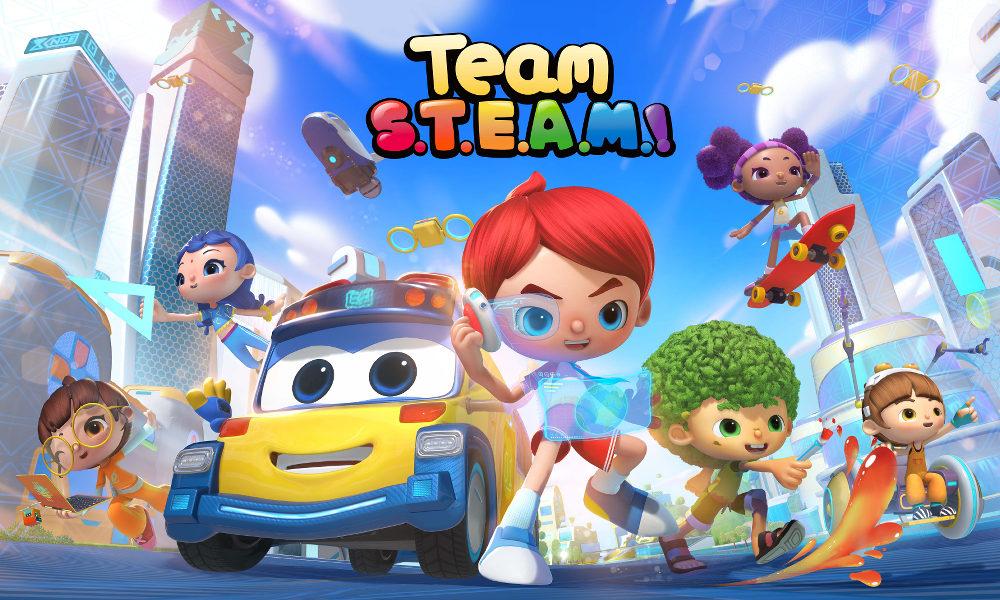 Team S.T.E.A.M.!