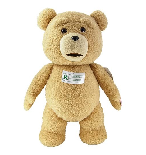 The Ted R-Rated Talking Plush Teddy Bear