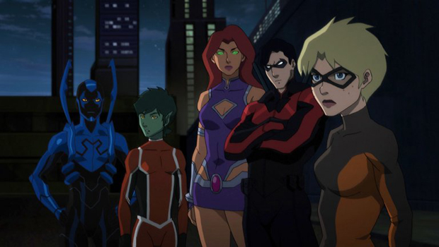 Teen Titans: Judas Contract. Image credit: DC Entertainment