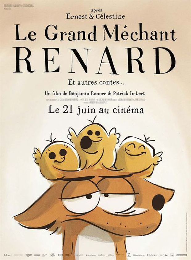The Big Bad Fox and Other Tales (Le Grand Mechant Renard et Autres Contes)