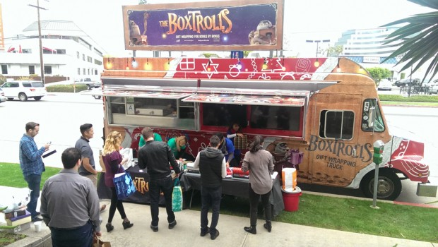 The Boxtrolls Gift Wrapping Truck