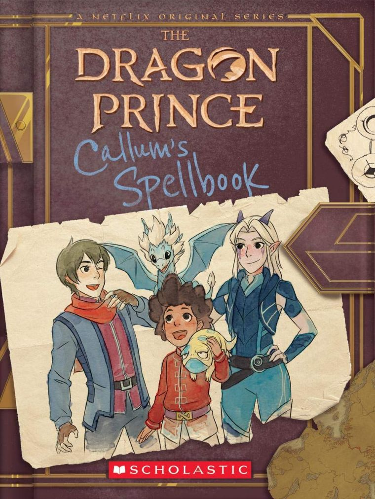 The Dragon Prince: Callum's Spellbook