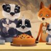 The Fox Badger Family