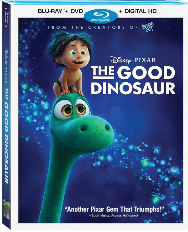 The Good Dinosaur Blu-ray and DVD