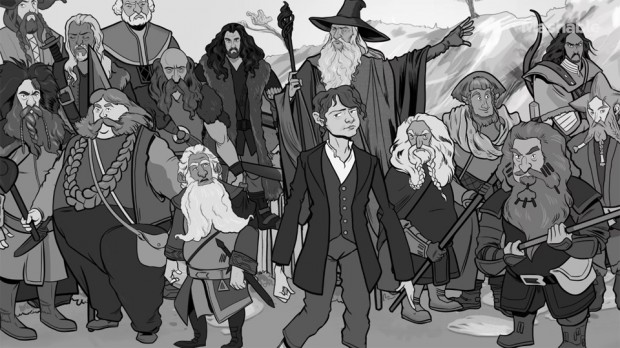 The Hobbit animation