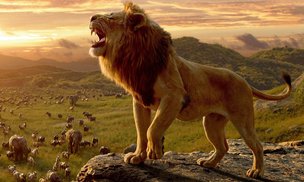 The Lion King remake offers new visuals.