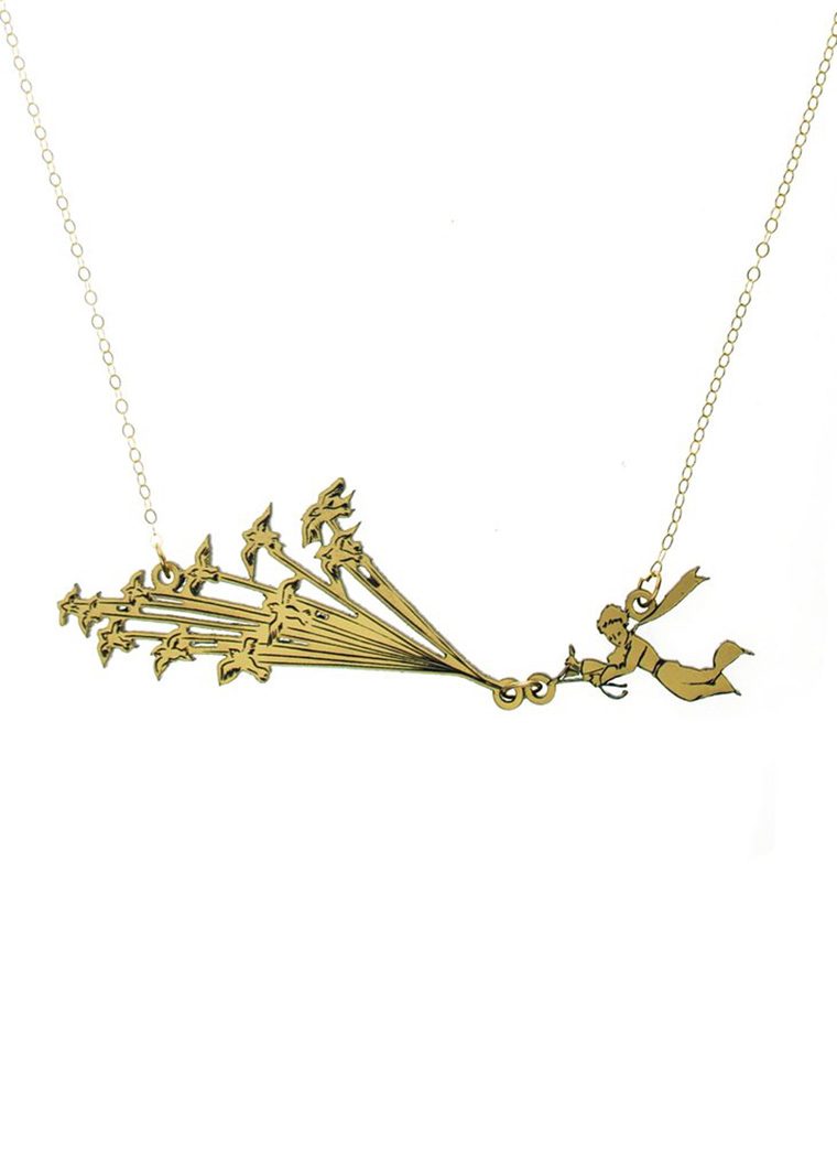 The Little Prince necklace, by Vinca
