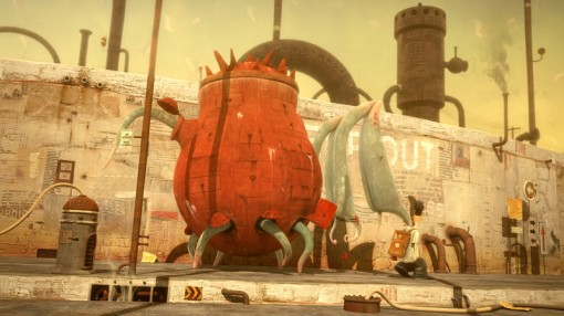 The Lost Thing by Shaun Tan and Andrew Ruhemann, which won Best Animated Short Film last year
