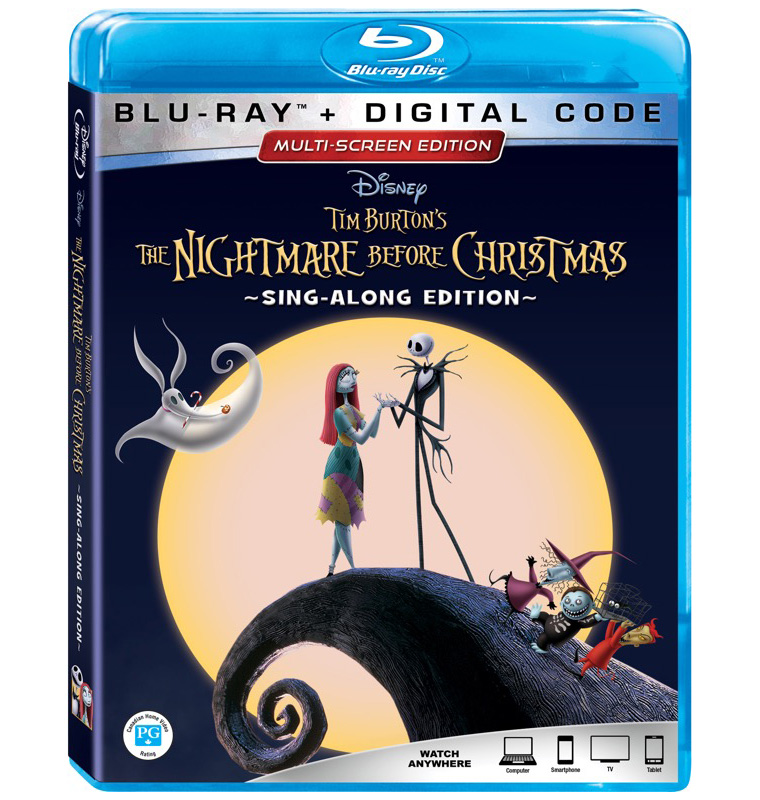 The Nightmare Before Christmas Blu-ray