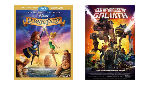 The Pirate Fairy / War of the Worlds: Goliath