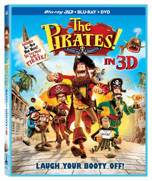 The Pirates! Band of Misfits Blu-ray/DVD Combo Pack