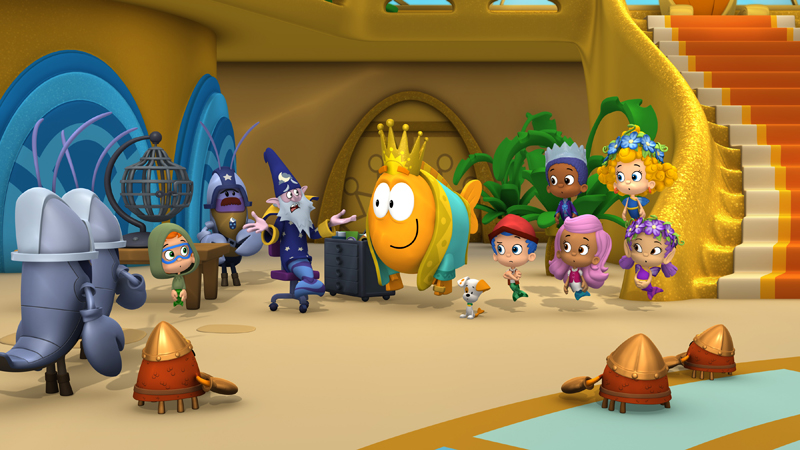 Bubble Guppies' Pays Homage to 'Lord of the Rings'