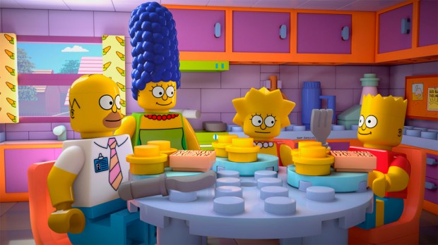 "The Simpsons ""Brick Like Me"""