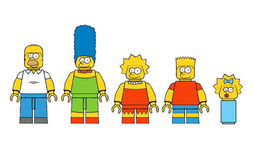 LEGO Plans a Simpsons Line for 2014