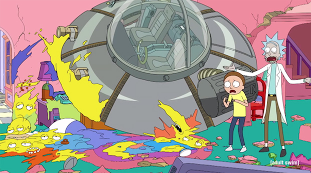 Rick and Morty appear in The Simpsons