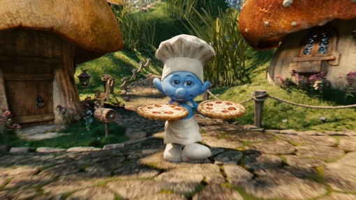 Chef Smurf in Columbia Pictures' THE SMURFS.