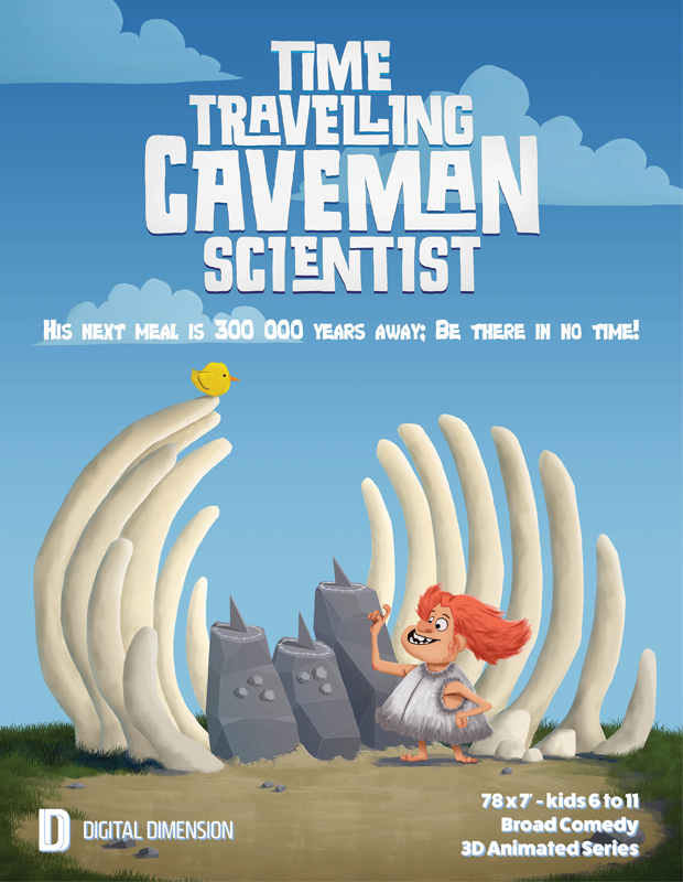 Time Travelling Caveman Scientist