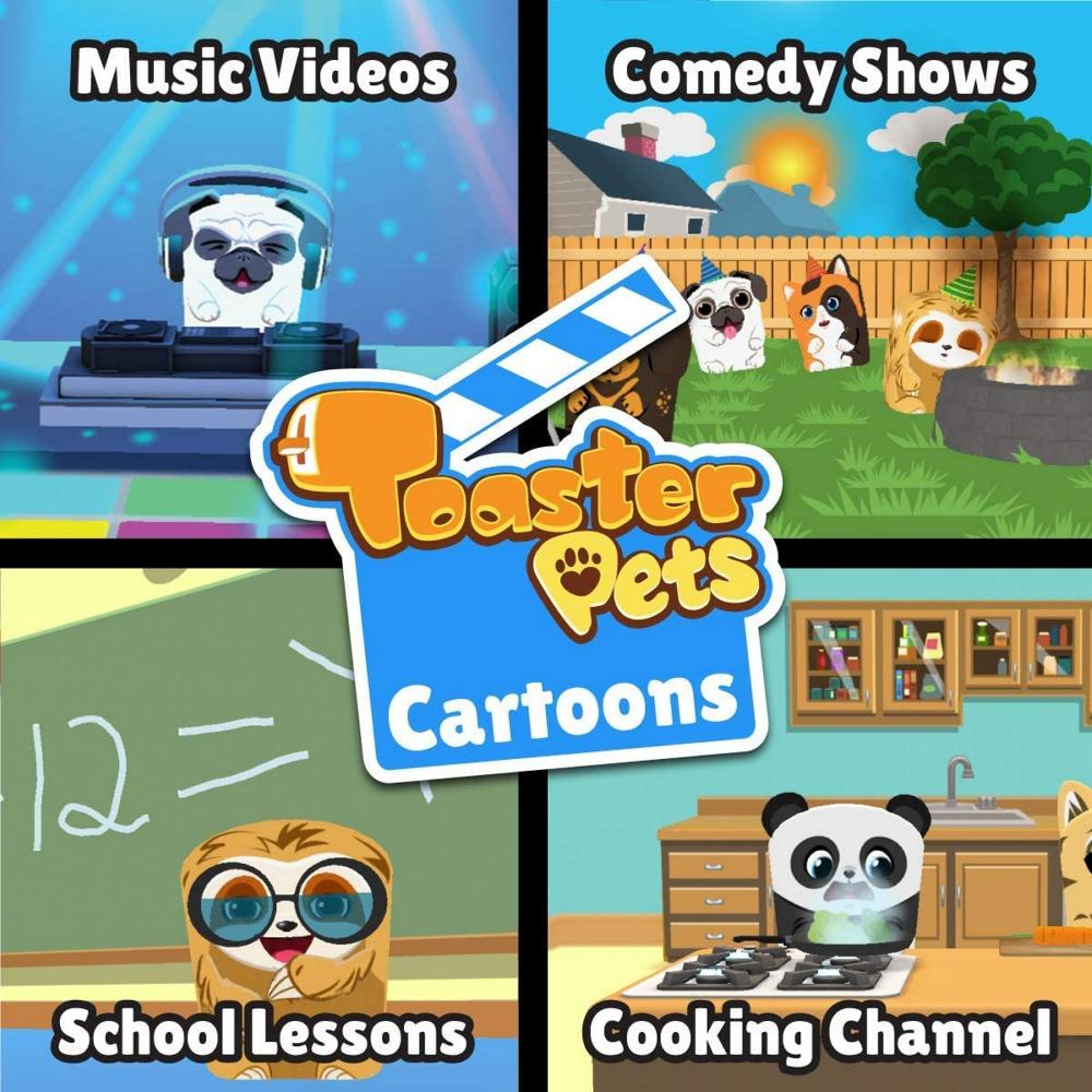 Toaster Pets Cartoon Studio
