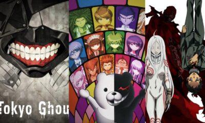 Tokyo Ghoul, Danganronpa, Deadman Wonderland
