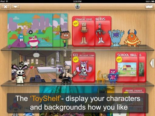 Toon Hero app