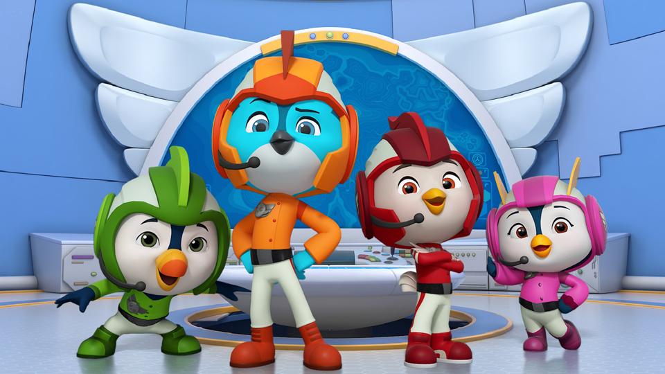 Nickelodeon Takes Flight With Cg Pre K Series Top Wing