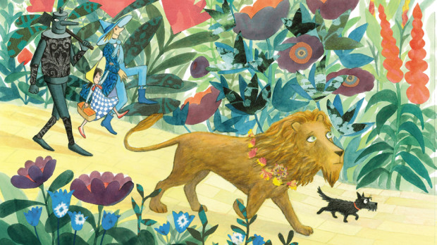Toto: The Dog-Gone Amazing Story of the Wizard of Oz (HarperCollins, 2017) illustration by Emma Chichester Clark