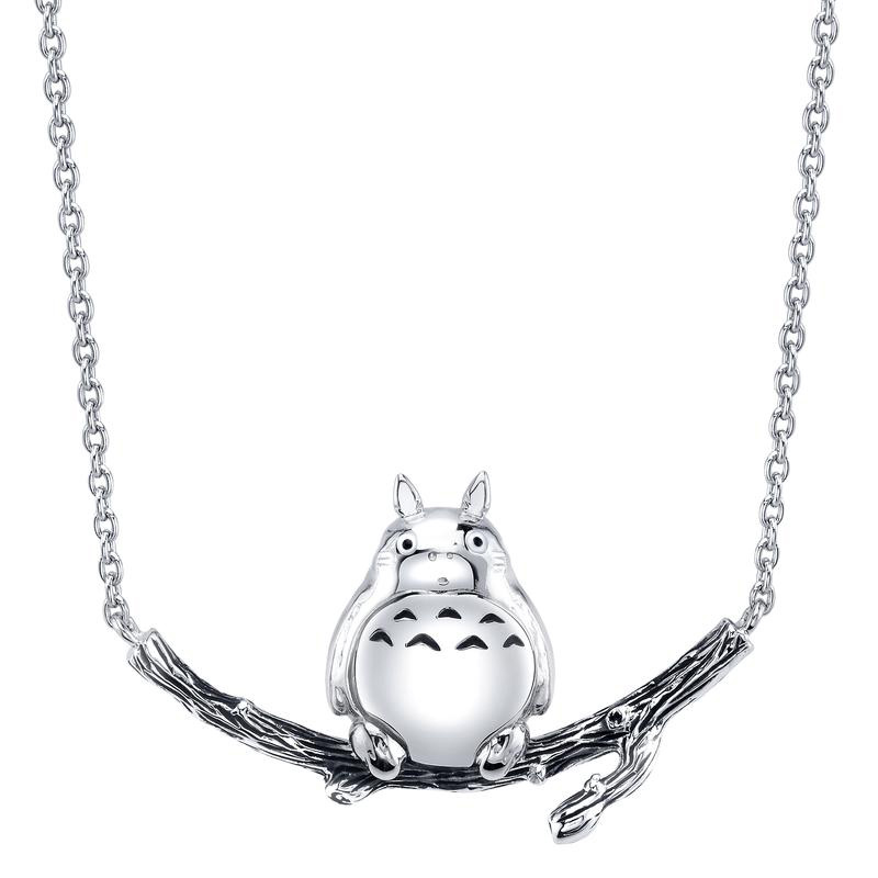 My Neighbor Totoro silver necklace