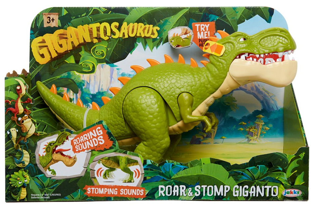 Gigantosaurus Roar & Stomp Giganto (JAKKS Pacific)