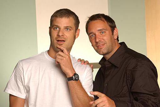 Trey Parker (left) and Matt Stone