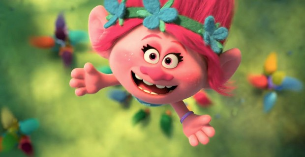 Poppy (voiced by Anna Kendrick) in 2016's Trolls from DreamWorks Animation