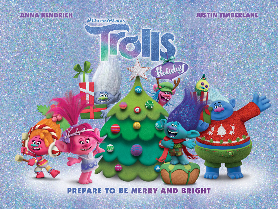Dreamworks Trolls Holiday Dvd >> Daily News Bytes: 'Trolls Holiday' in UK, David Soren Interview, YouTube Sics 10K Staff on ...